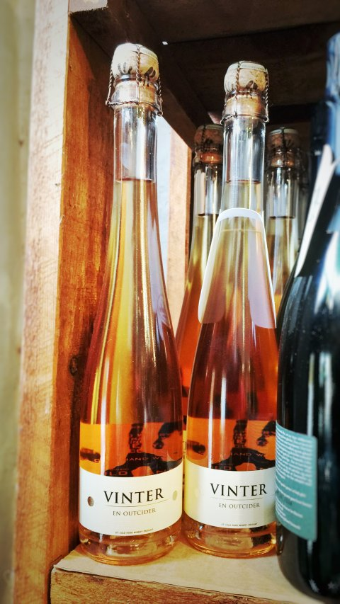 Vinter - En outcider - Cider fra Cold Hand Winery,